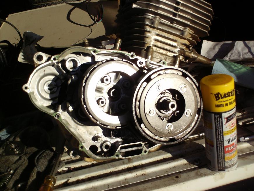 How to remove clutches on 96 300 - Honda ATV Forum