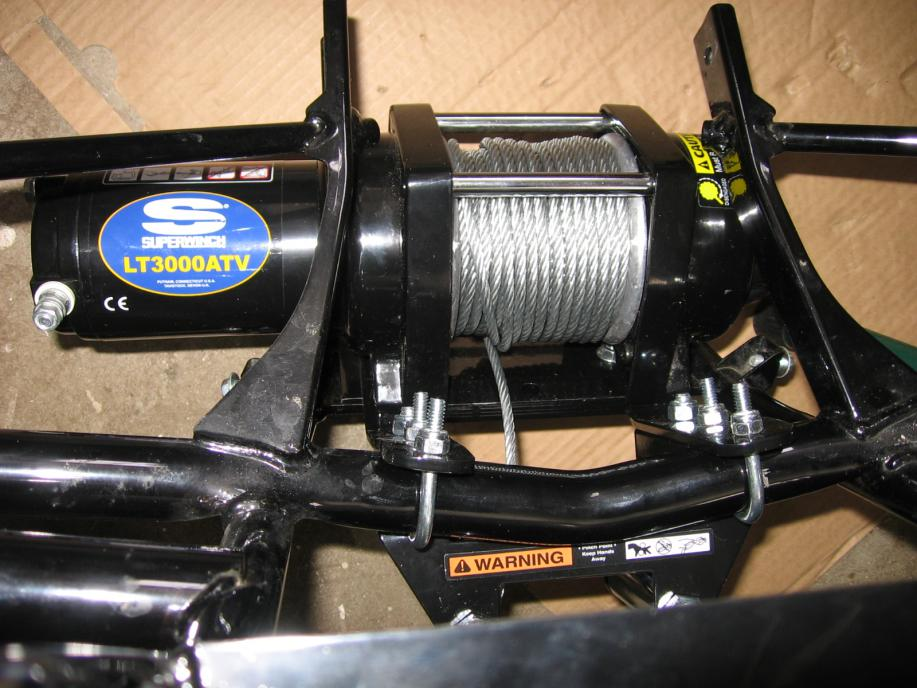 Critical Install Points for Superwinch - Page 4 - Honda ATV Forum