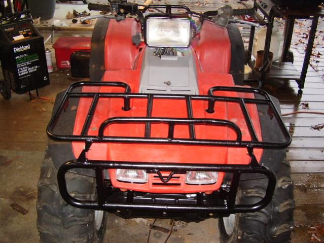 87 Trx350d Been Sitting For A While Honda Atv Forum