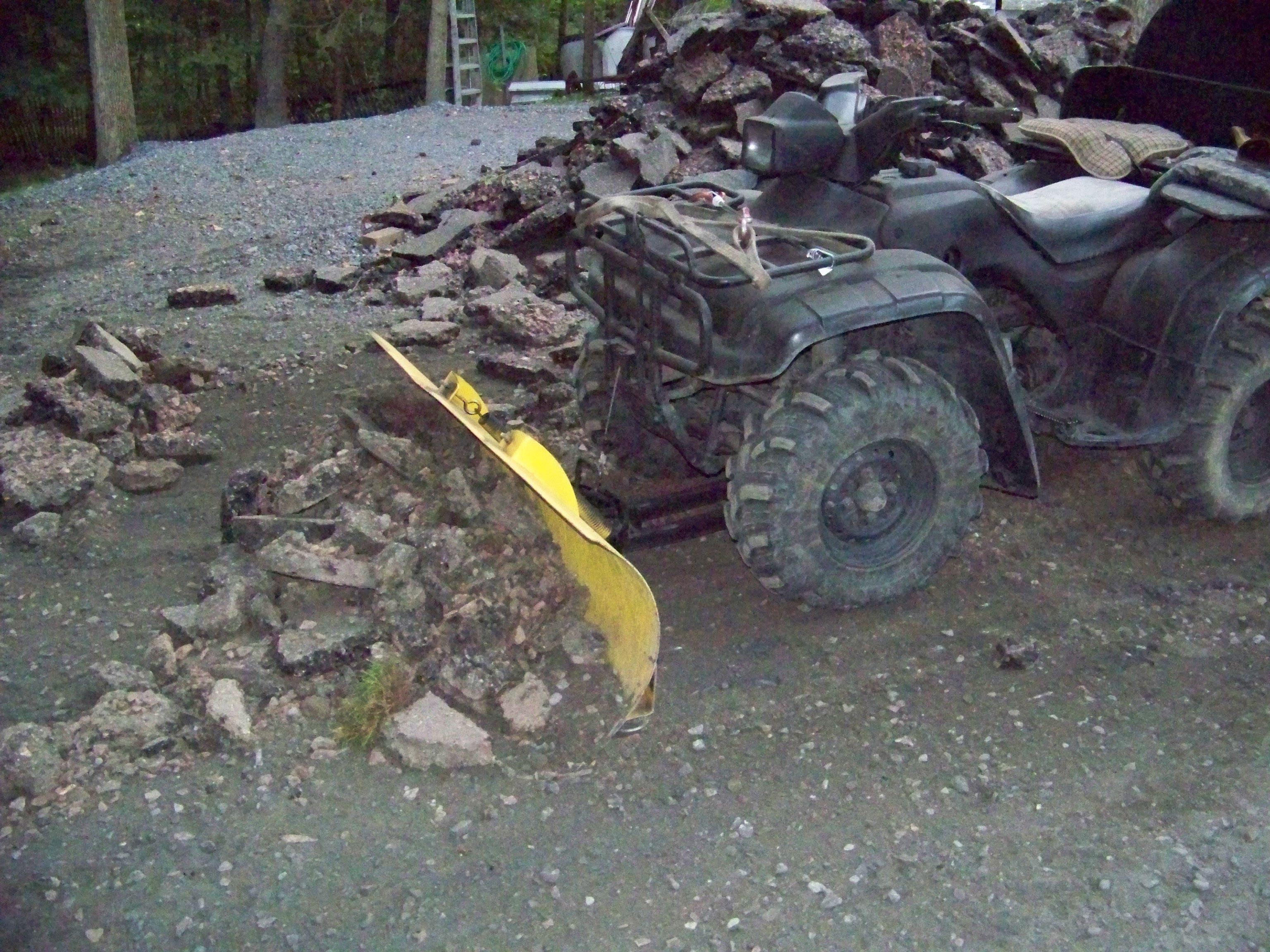 Honda Atv Snow Plow Moose