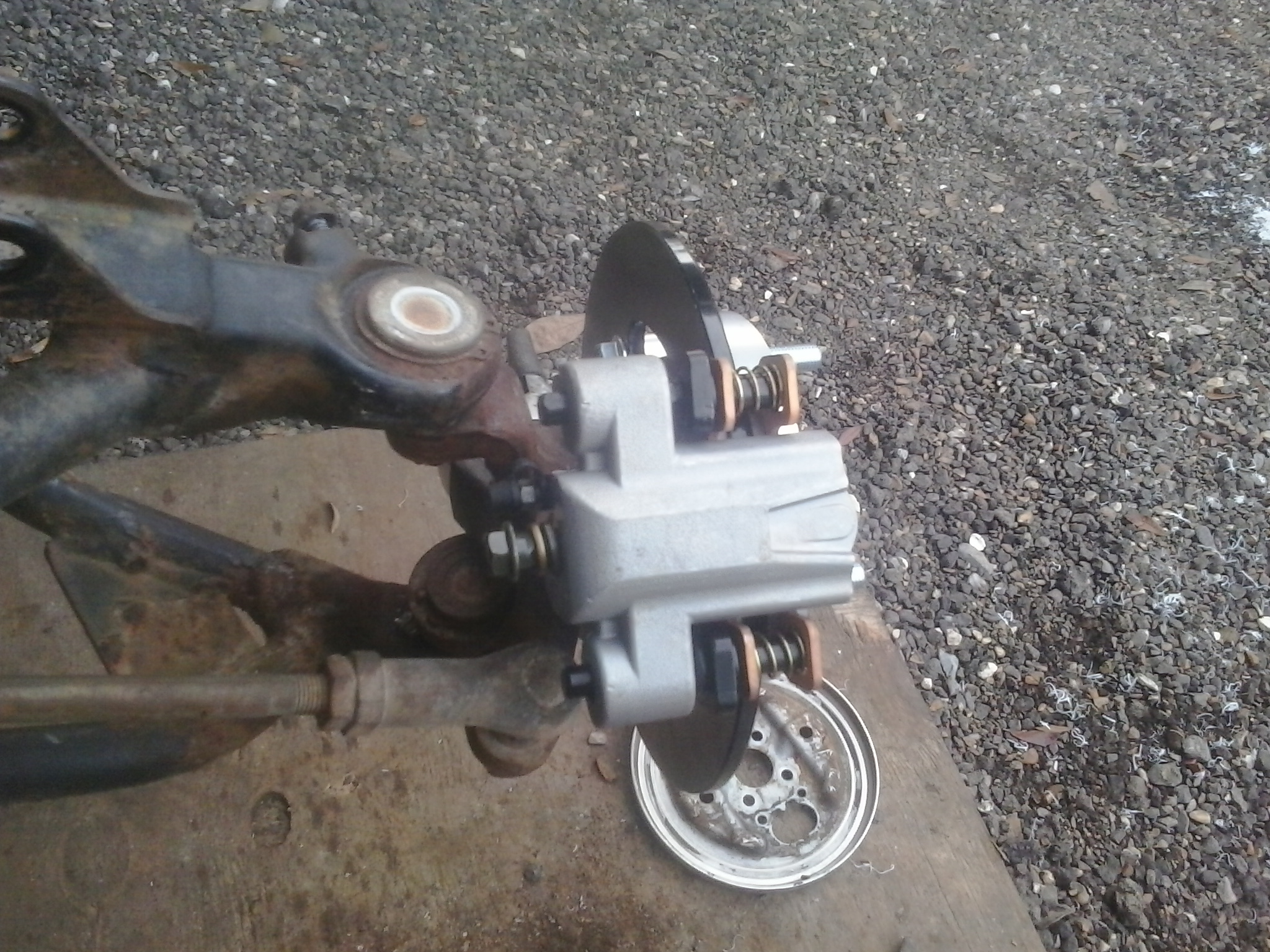 300 Fourtrax2wd front disc brakes - Honda ATV Forum