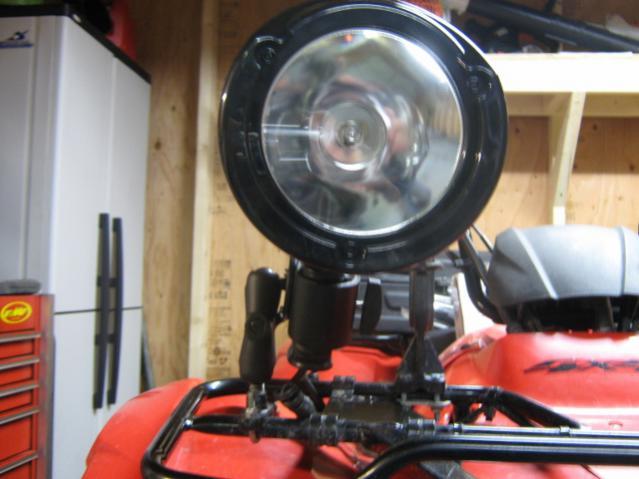 Coleman 12v Atv Multi Mount Spotlight Honda Atv Forum