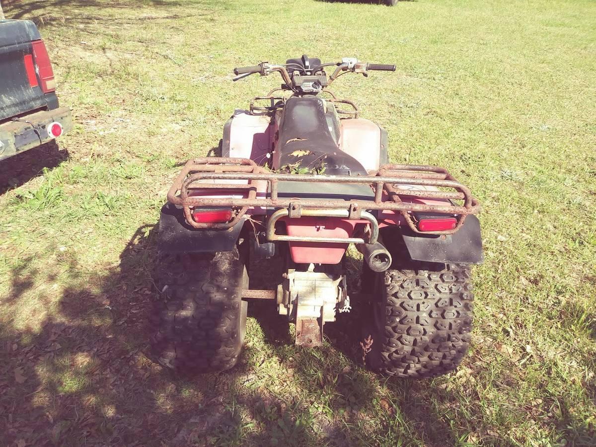 1984 Honda TRX200 200 Fourtrax Rear Hand Brake Cable