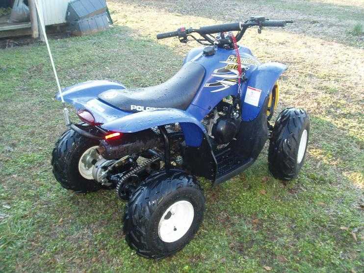 2003 Polaris Scrambler 50 youth ATV - Honda ATV Forum