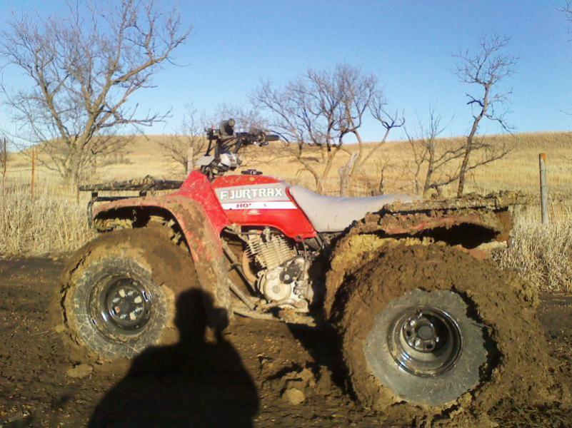 Post Your Muddy Atv Pics Ii Honda Atv Forum