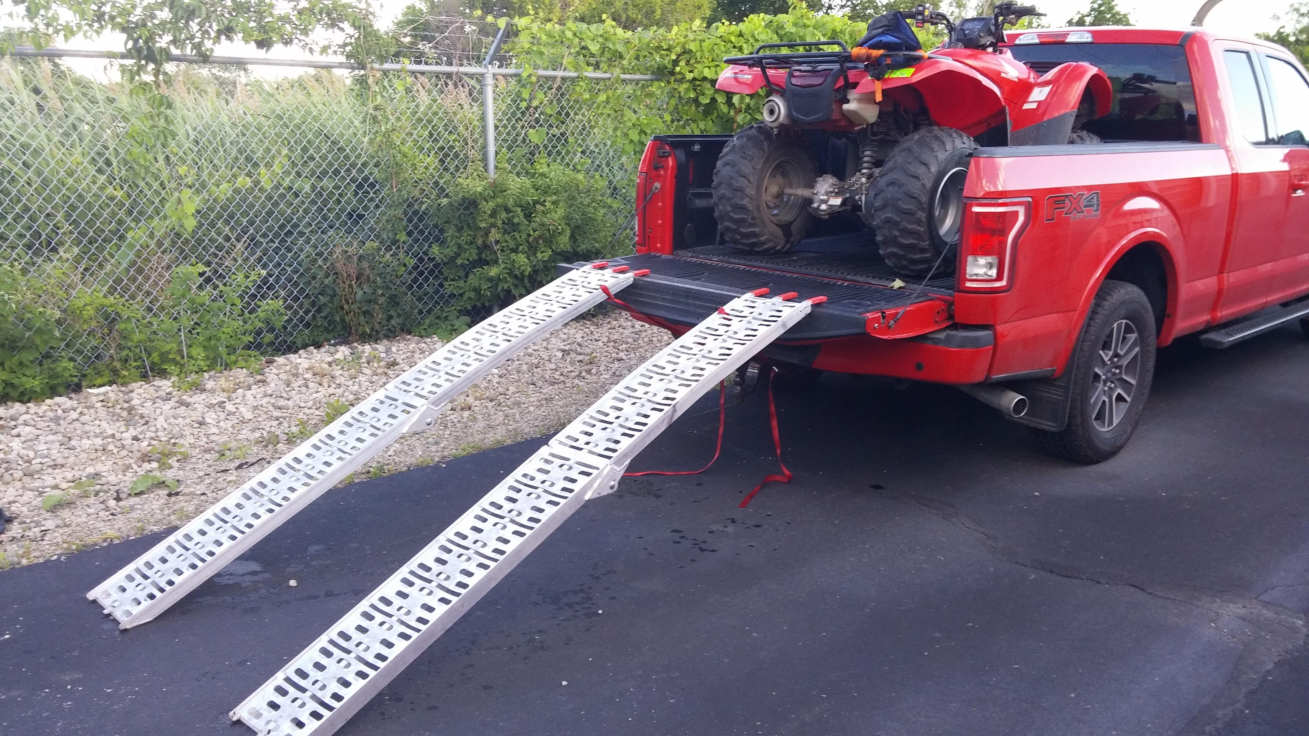 Atv Truck Ramps >> F/S: 2 Honda Rancher 420 4X4 + Utility Trailer and Ramps $9.5k obo - Honda ATV Forum