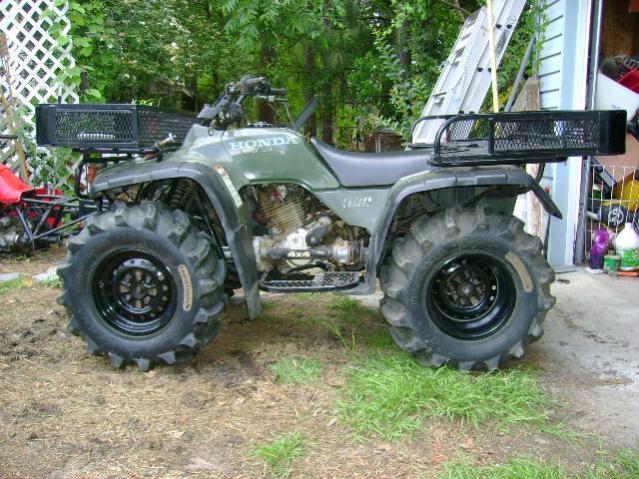 My new tires for honda fourtrax 300 4x4 - Honda ATV Forum