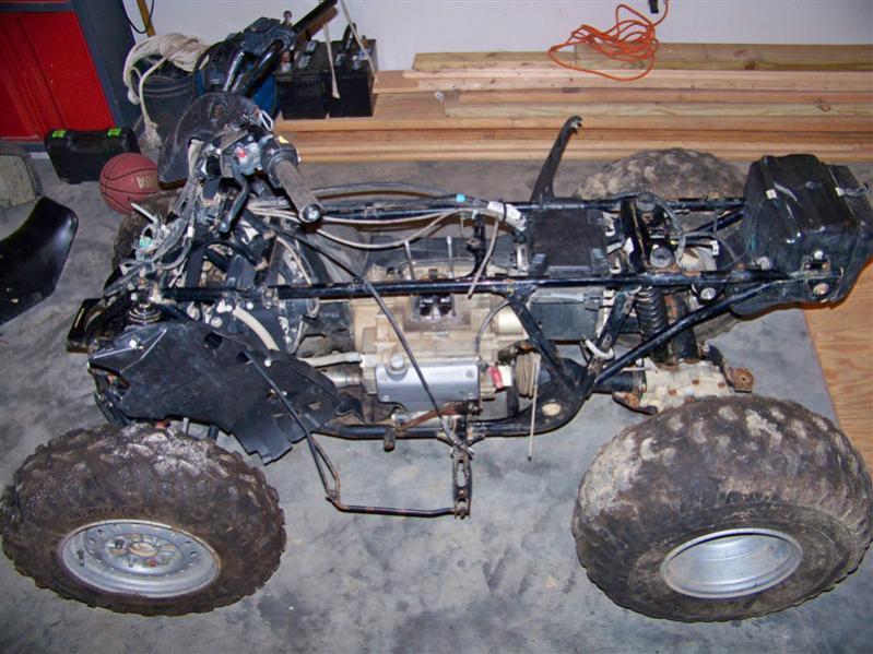 Bill's 2006 Honda Rancher trx350 rebuild - Honda ATV Forum