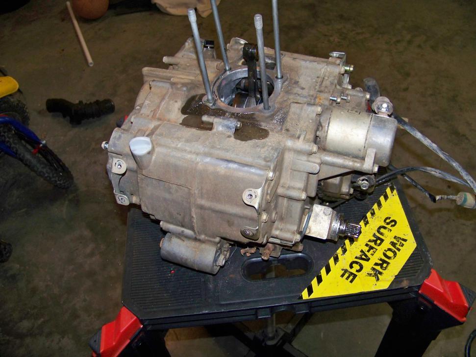 Bill's 2006 Honda Rancher trx350 rebuild - Page 2 - Honda ...