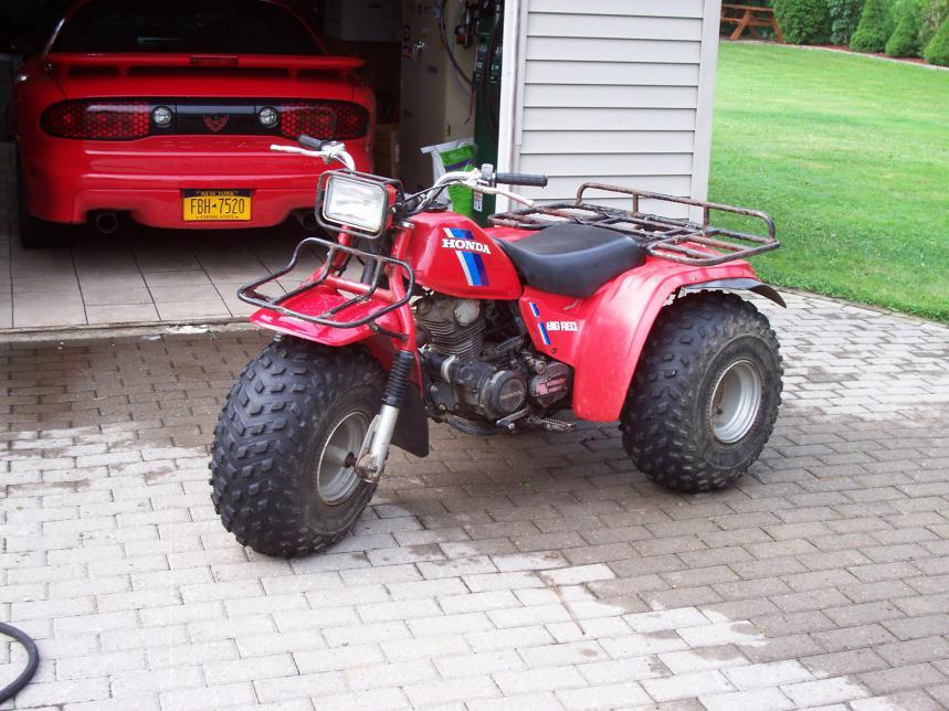 3 wheeler - Honda ATV Forum