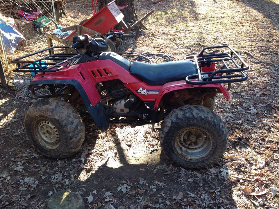 How much is my 87 honda fourtrax 350 4x4 worth honda atv for Honda net worth
