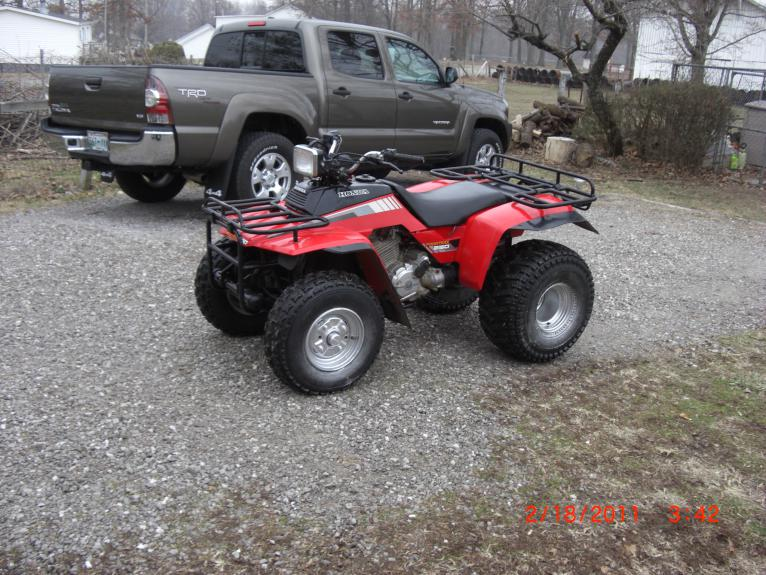 ... Click Image For Larger Version Name: 1985 Honda FourTrax 001 Views:  8945 ...