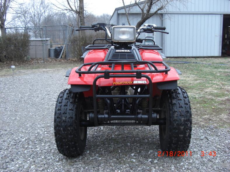 oldest running drivable quad page  honda atv forum