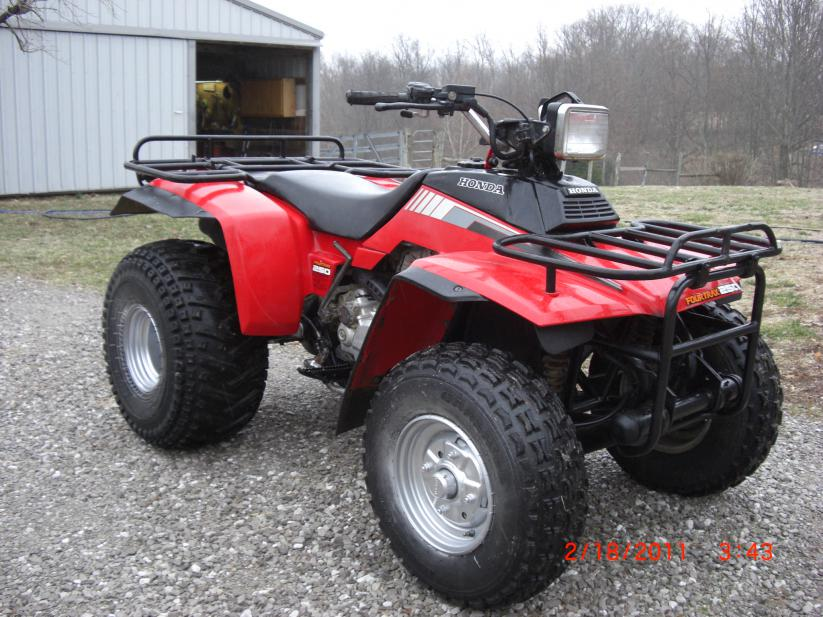 D Honda Fourtrax X Honda Fourtrax on 1986 Honda Atv Wiring Diagram