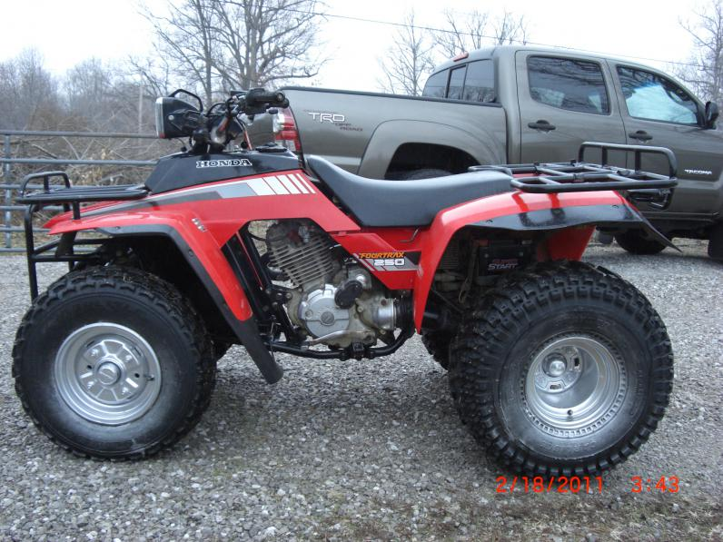 Fourtrax 250 Muffler Honda Atv Forum