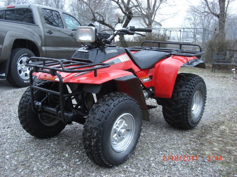 Fourtrax 250 Muffler Honda ATV Forum