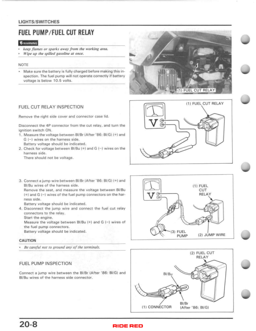1986 Honda Atv Wiring Diagram Box Wiring Diagram