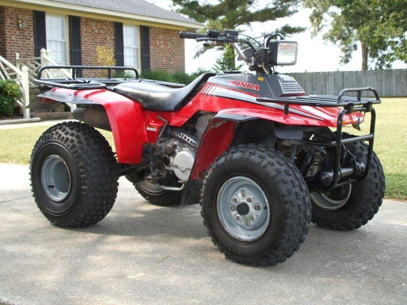 I bought a 1986 Honda fourtrax   Page 2  Honda ATV Forum
