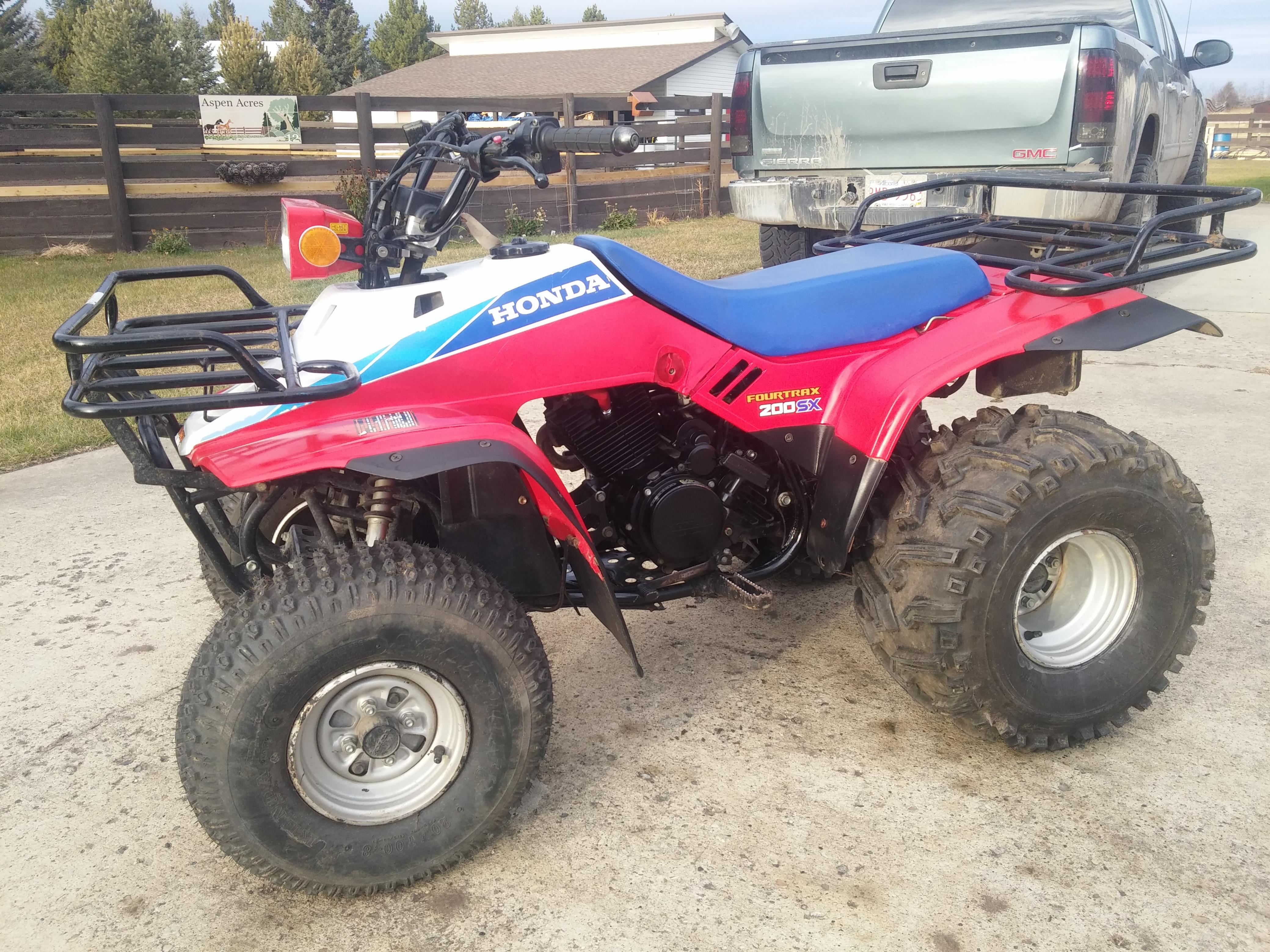 Click image for larger version Name: 1986 Honda FourTrax TRX 200sx (15).