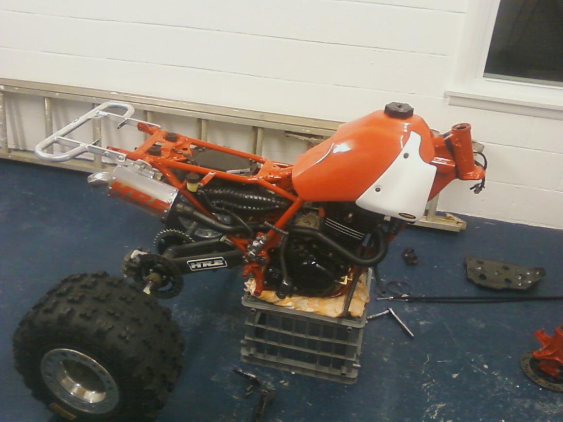 D My Custom Build Race Wheeler on Honda Oem Oil Filter
