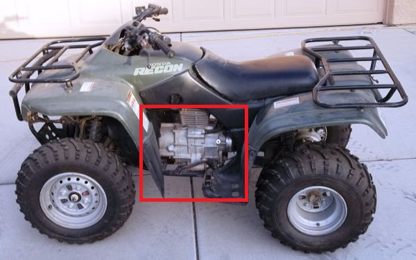 Recon 250 side panel issues - Honda Foreman Forums : Rubicon, Rincon