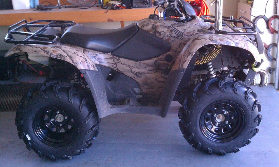 Pic Of The New Rancher Honda Atv Forum