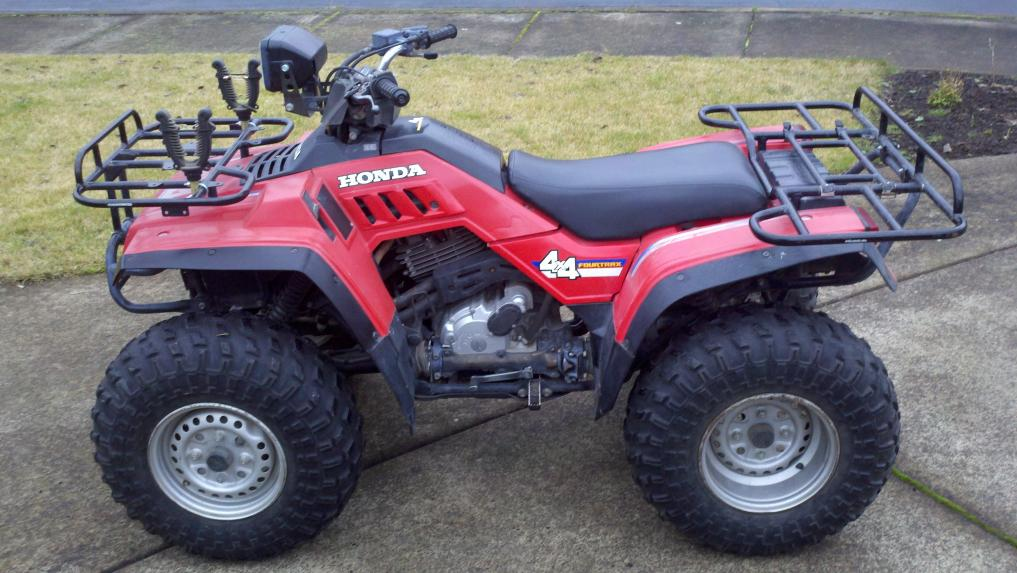 Wheels Rims 1986 Honda Fourtrax Trx350 Honda Atv Forum