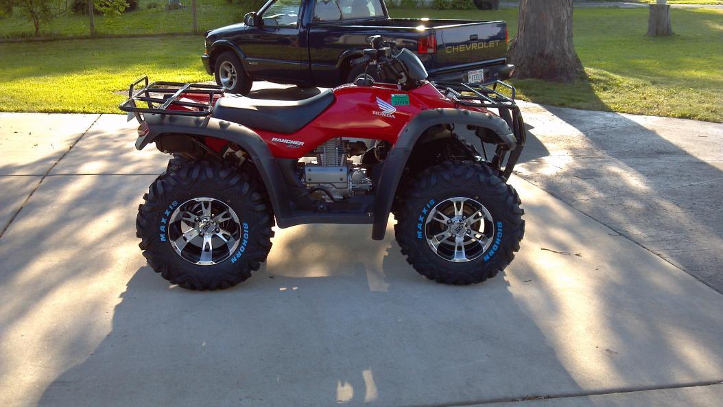 2006 Rancher 350TE Tire Replacement - Honda ATV Forum