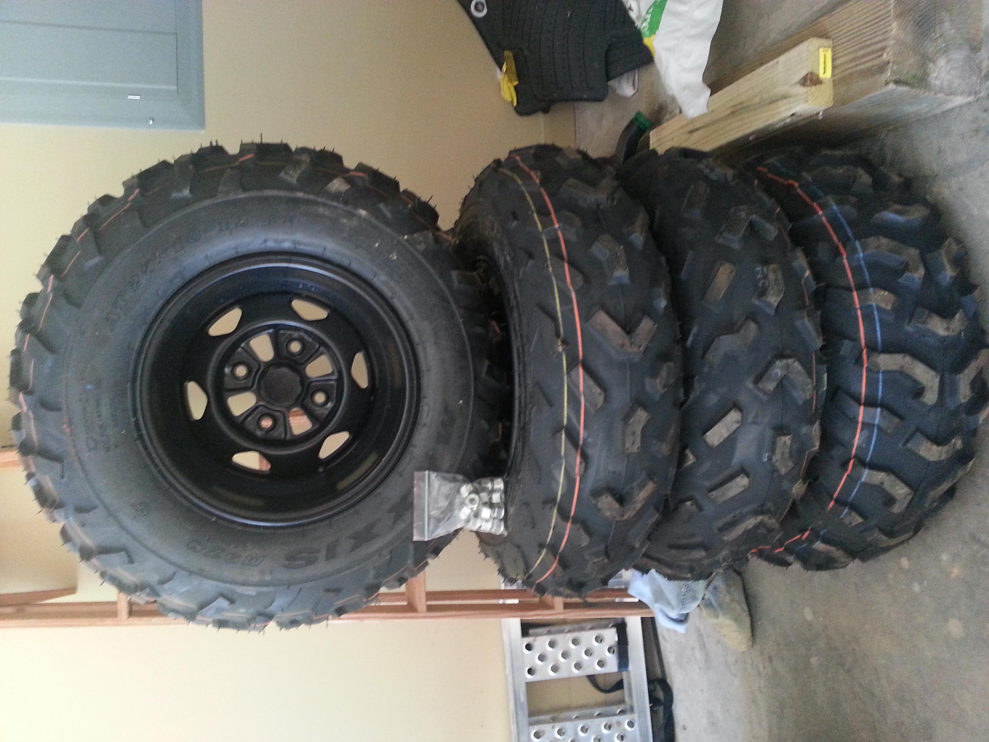 Honda Factory Rims >> For Sale. OEM Wheels and Tires - Honda ATV Forum