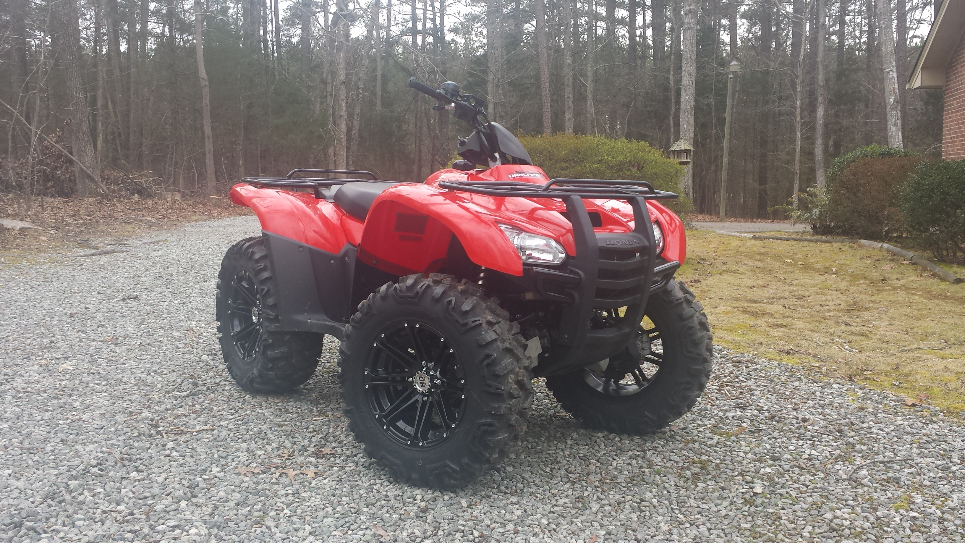 New Rims/Tires on my '13 Rancher AT IRS - Honda ATV Forum