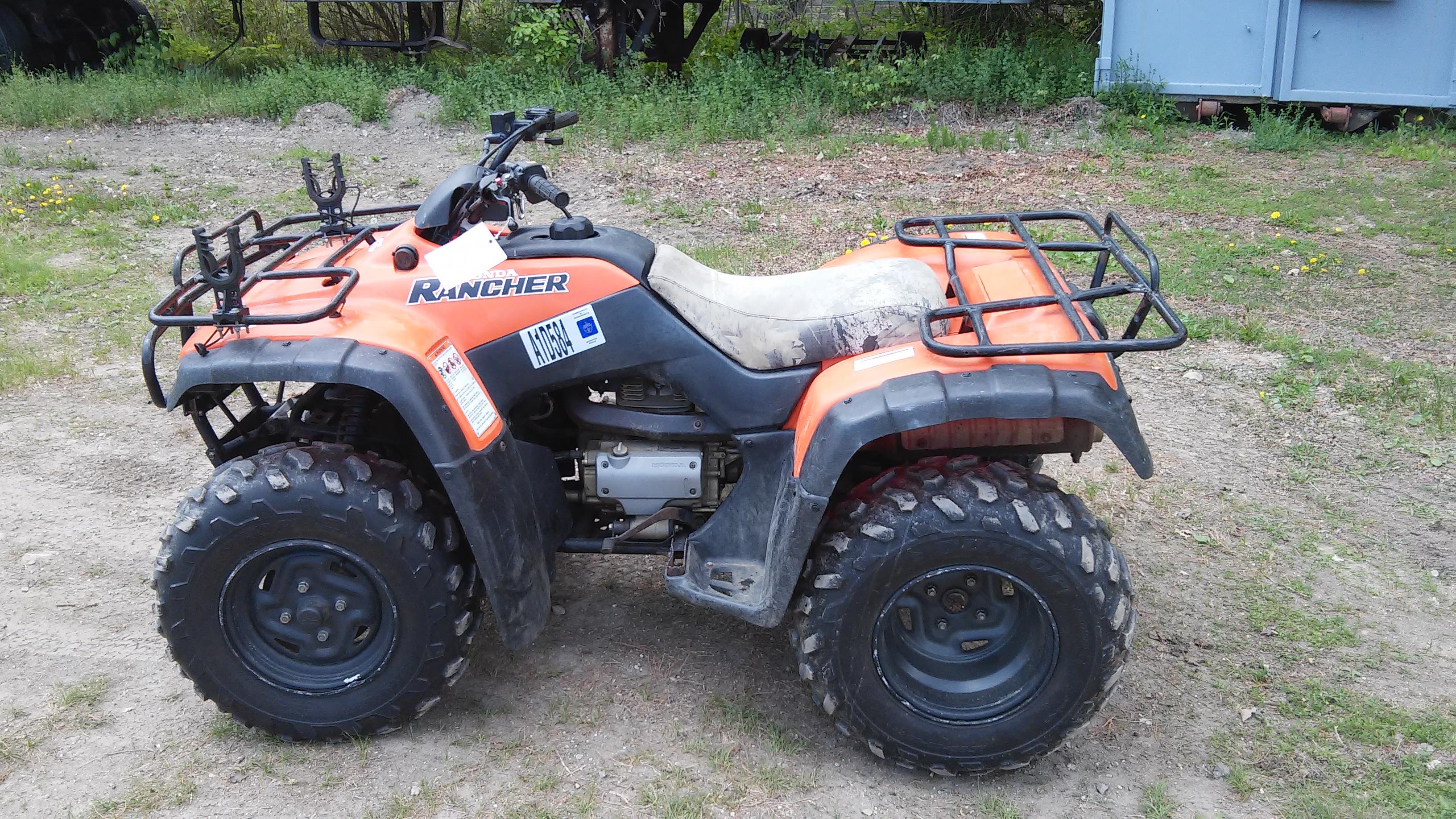 3003 Honda Rancher 350 - Honda ATV Forum