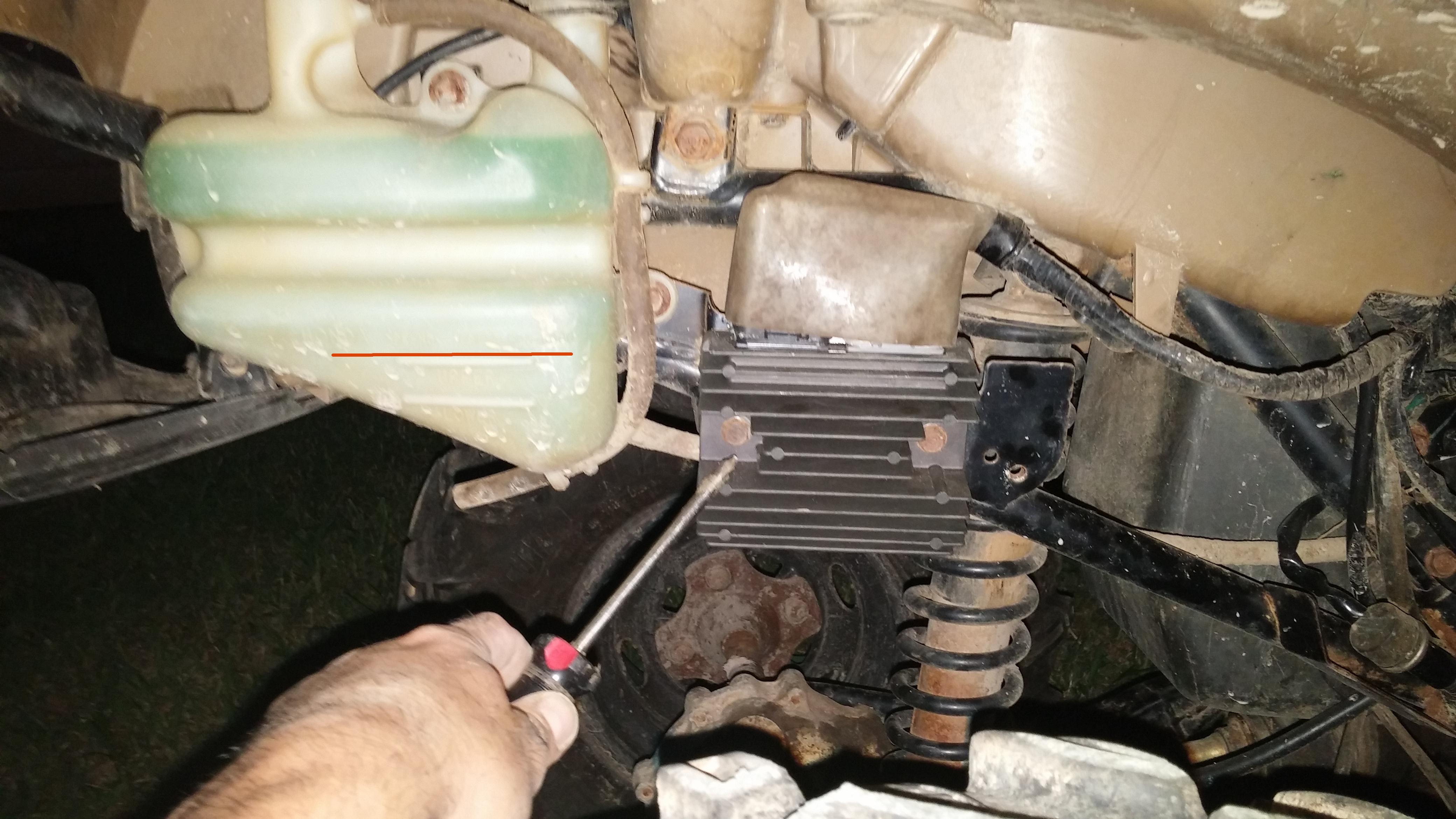 2008 Rancher 420fm Electric Issue With Pics Honda Atv Forum