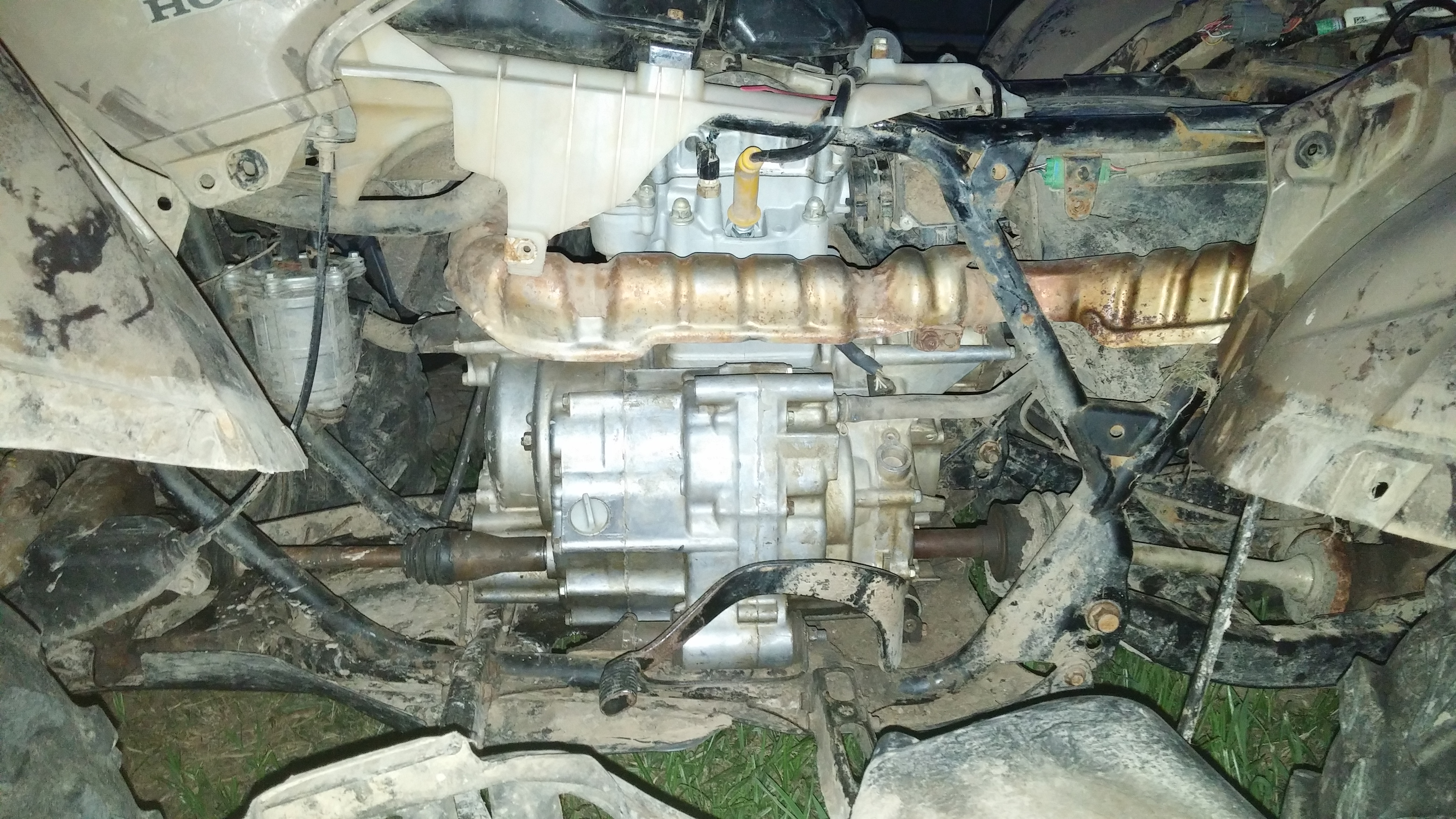 Fuel Pump Relay Location >> 2008 rancher 420fm electric issue(with pics) - Honda ATV Forum