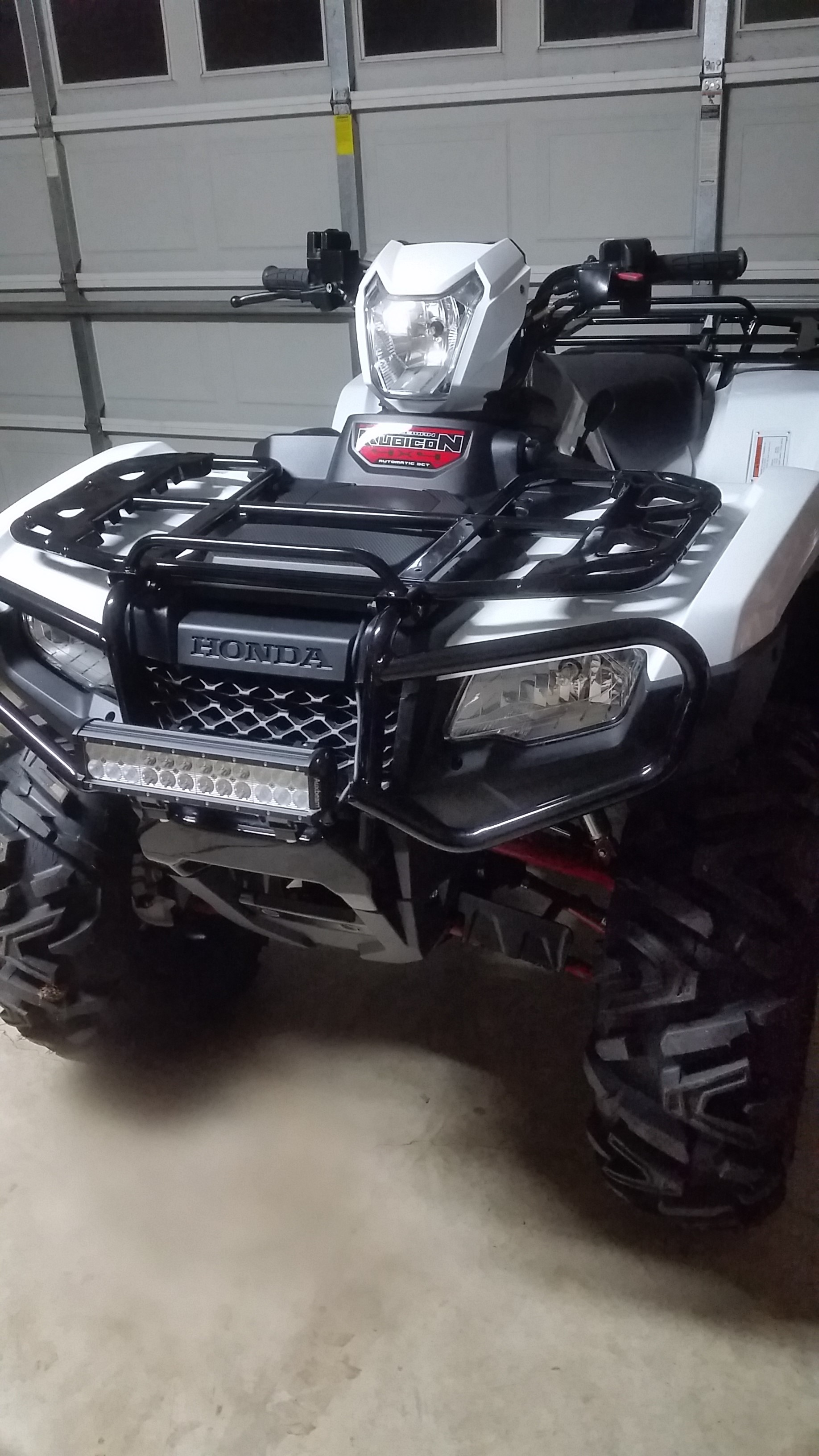 Wheel And Tire >> 12' LED Light Bar on 2016 Rubicon - Honda ATV Forum