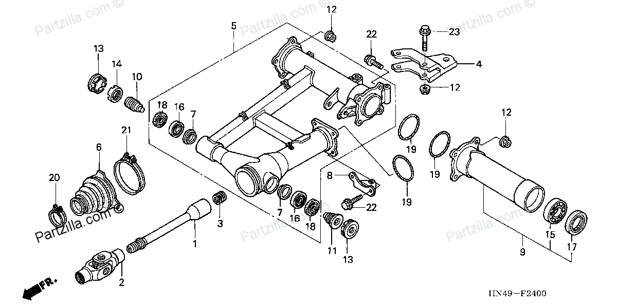 Click Image For Larger Version Name 2400 Views 18392 Size 560: Wiring Diagram For Honda Recon ATV At Executivepassage.co