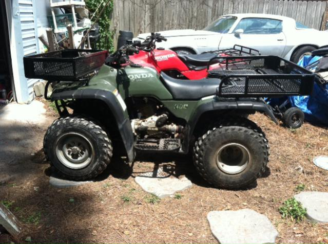 question about tires for honda fourtrax 300 4x4 - honda ...