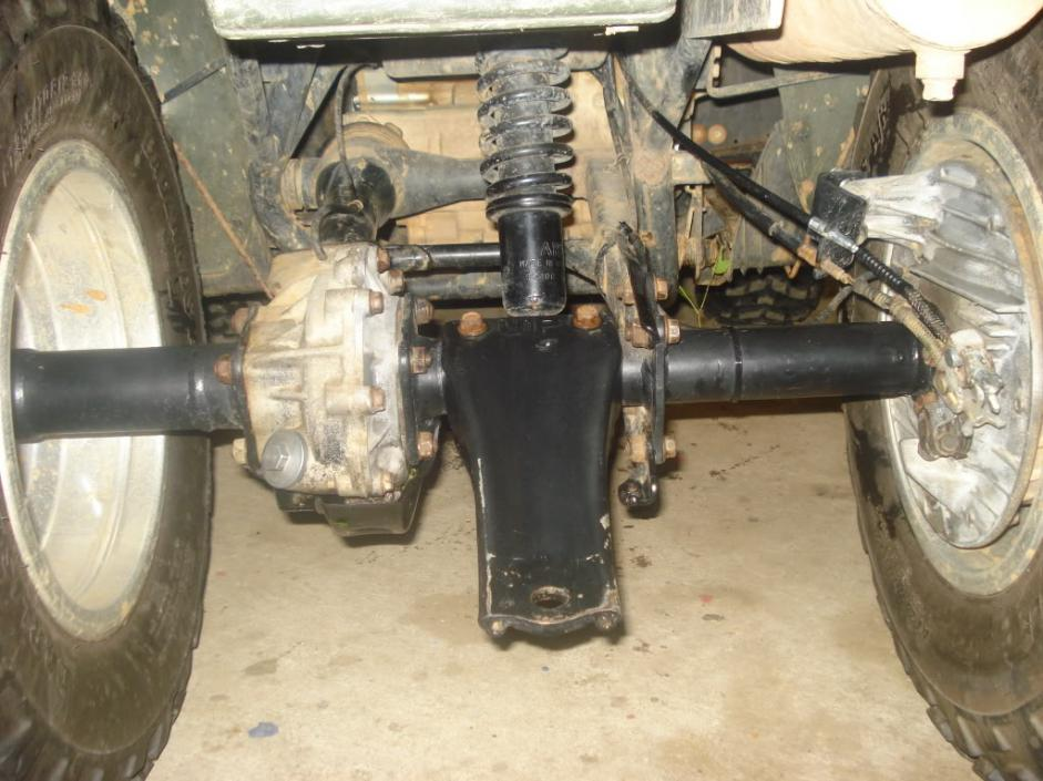 Honda 300 fourtrax rear end