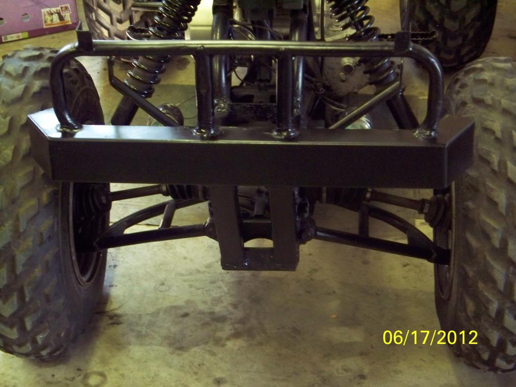 Ben S Bumper Update Honda Atv Forum
