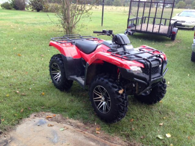 New guy from SC. 2014 Rancher 420 - Honda ATV Forum