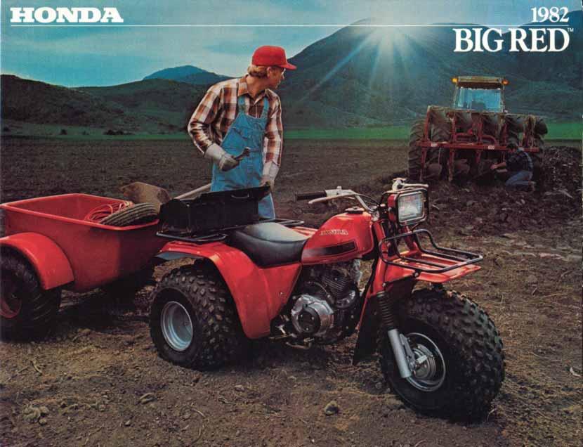 Colorful Wiring Diagram 1986 Honda Big Red Inspiration - Electrical ...