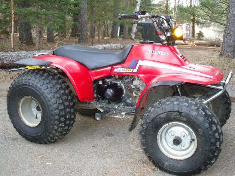 TRX 125 front & rear racks - Honda ATV Forum