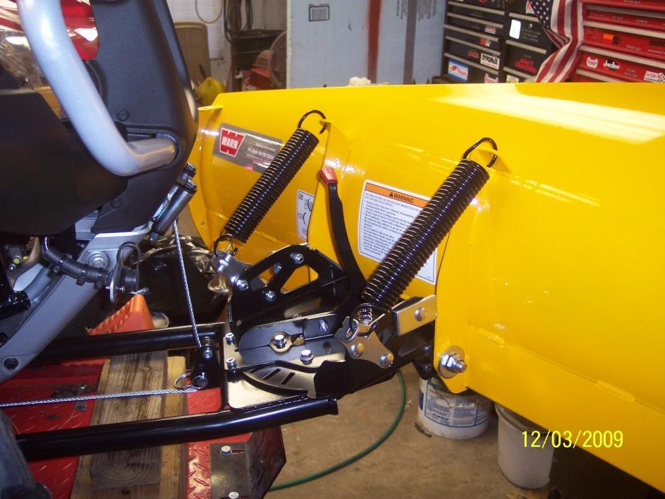 Mounted Warn Plow System Honda Atv Forum