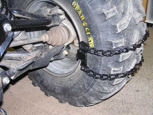 Snow Chains For Tires >> Cheap effective snow/mud chains - Page 2 - Honda ATV Forum