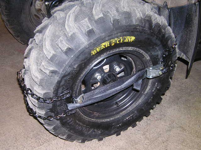 Cheap Effective Snow Mud Chains Page 2 Honda Atv Forum