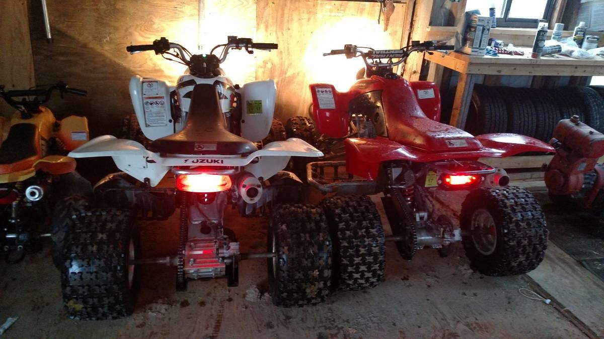 Honda 400ex vs Suzuki ltz400 - Honda ATV Forum