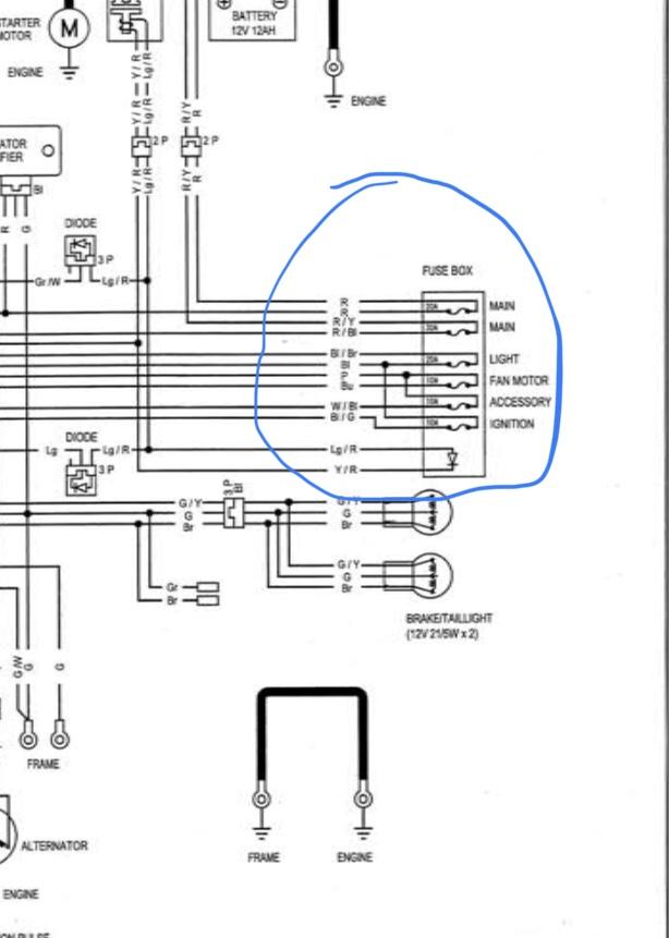 Honda Rubicon 650 Wiring Diagram Se Ter O Cj7 Wiring Diagram For Wiring Diagram Schematics