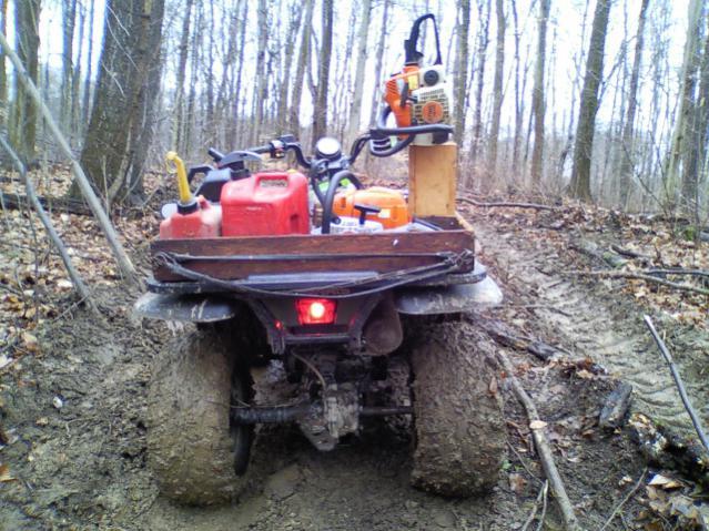 Chainsaw Mounting Ideas Page 5 Honda Atv Forum