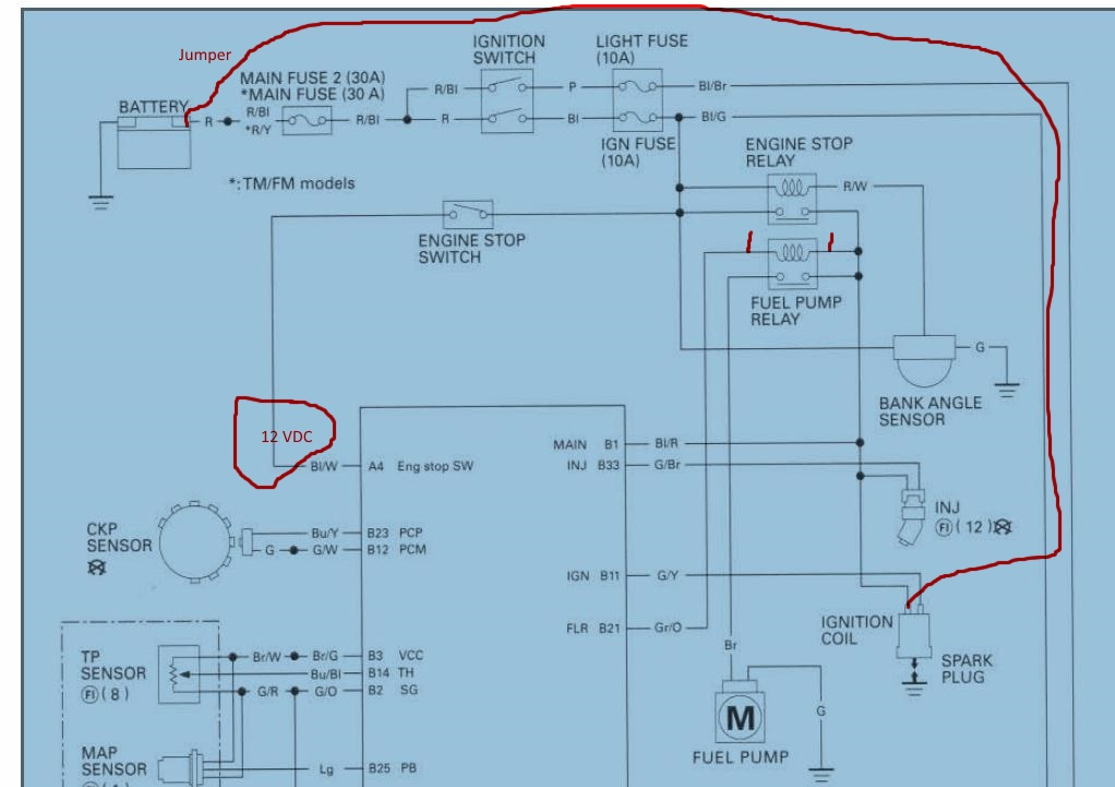 2006 Honda Atv Wiring Diagram Wiring Diagram Schematics