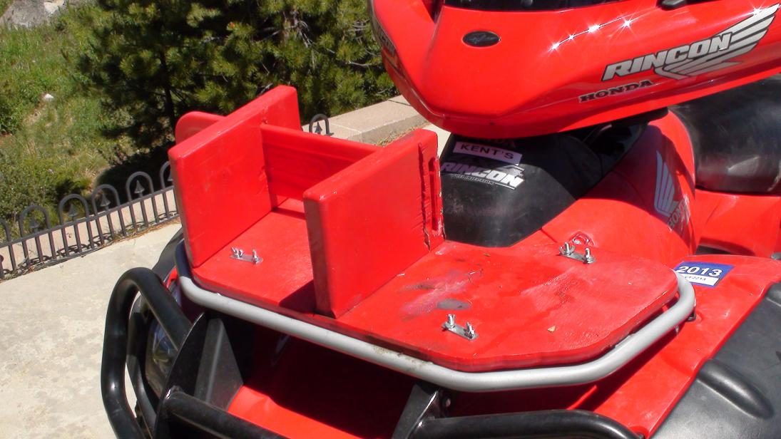 Chainsaw Carrier For About 5 Honda Atv Forum