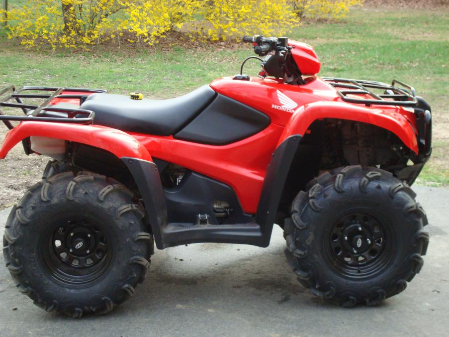 2012 Forman 500 Tire Upgrade Honda Atv Forum